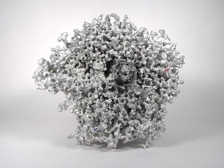 Amazingly Complex Ant Hills Cast as Aluminum Sculptures - My Modern Metropolis