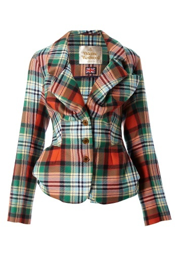 Tartan Beelzebub Jacket Gold Label AW12/13 I want this :-(