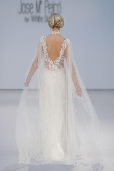 50 vestidos de novia con escote a la espalda 2017: ¡los querrás todos! Image: 26