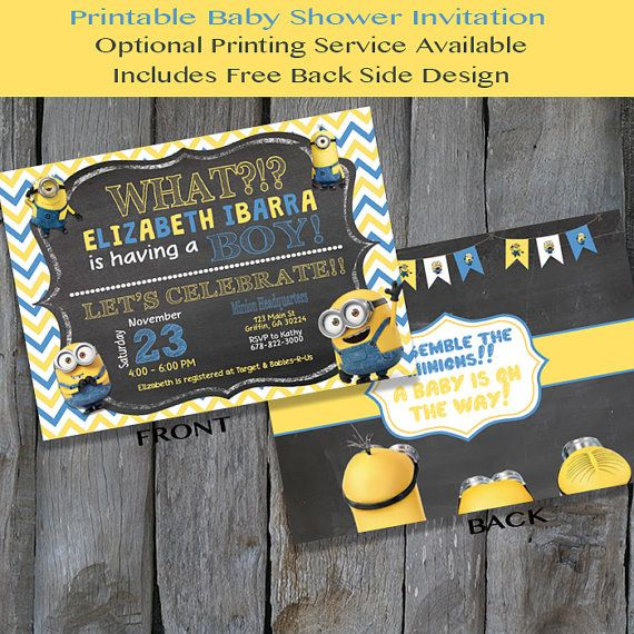 about minion baby shower on pinterest minion party bags minion