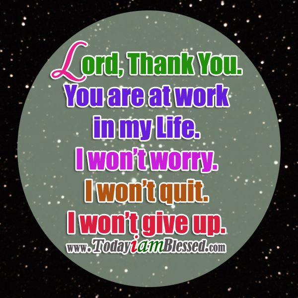 Thank You Lord for never leaving me. ♥ http://instagram.com/todayiamblessed2