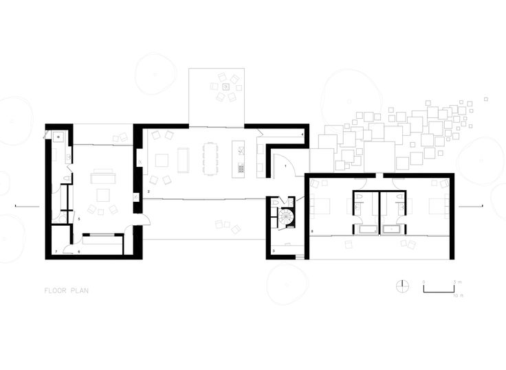 Image 11 of 12 from gallery of Tucson Mountain Retreat / DUST. Floor Plan