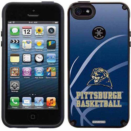 University of Pittsburgh Basketball Design on Apple iPhone 5SE/5s CandyShell Case by Speck