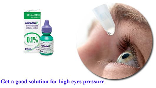 Pressure in the eyes should never be ignored as it can be a symptom of Glaucoma. Using Bromine eye drops, it can be treated completely.