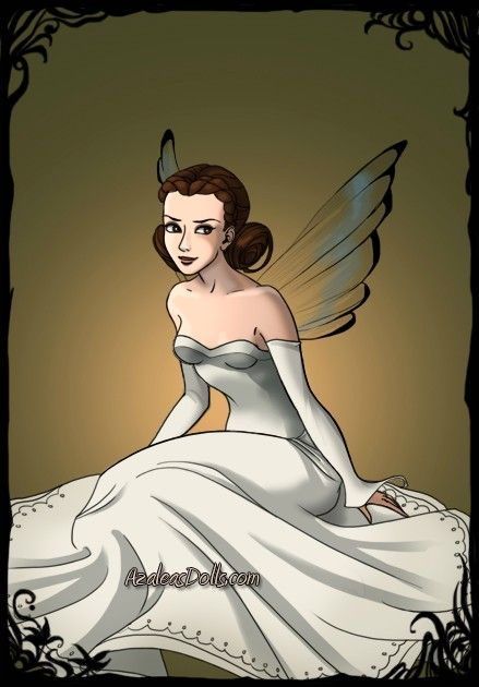 Princess Leia as a Dark Fairy by ~LadyAquanine73551 on deviantART