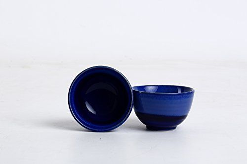 Caffeine Ceramic Handmade Studio Blue Small & Stout Pudding Dessert Ceramic Bowl (Set of 2) This is a perfect product of modern handmade pottery art at the same time elegant piece of Studio works. This is an elegant combination bowl set of 2 pieces with perfect glossy finish with studio... see more details at https://bestselleroutlets.com/home-kitchen/kitchen-dining/dining-entertaining/bowls/dessert-bowls/product-review-for-caffeine-ceramic-handmade-studio-blue-small-stou