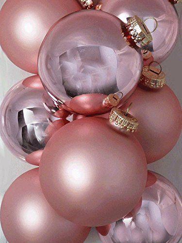 8-er Set rosa hochwertige große Christbaumkugeln aus Glas im Mix – ROSA – matt und glanz – 8 cm Siehe mehr unter http://www.woonio.de/p/8-er-set-rosa-hochwertige-grosse-christbaumkugeln-aus-glas-im-mix-rosa-matt-und-glanz-8-cm/