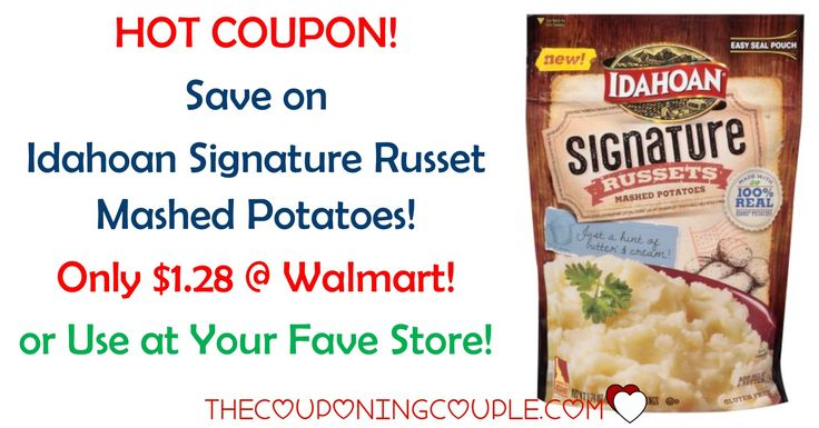 PRINT A HOT IDAHOAN SIGNATURE RUSSET MASHED POTATOES COUPON to snag a deal at your favorite store or get a deal at Walmart to pay only $1.28!  Click the link below to get all of the details ► http://www.thecouponingcouple.com/idahoan-signature-russet-mashed-potatoes/ #Coupons #Couponing #CouponCommunity  Visit us at http://www.thecouponingcouple.com for more great posts!
