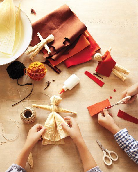 DIY: If you've ever wondered how to make cornhusk dolls, this is a great craft project for kids to get them back to the basics.