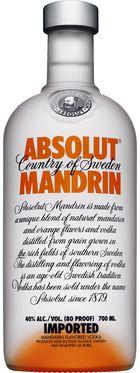 Absolut Vodka Mandarin / 40% / 0,7l http://www.flaschenhandel.com/Absolut-Vodka-Mandarin