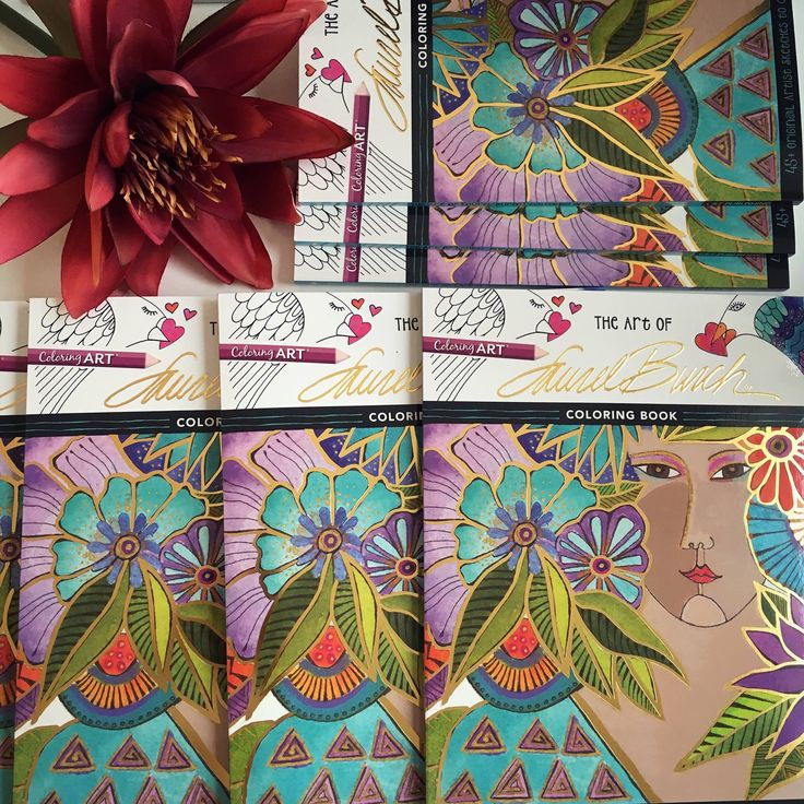 Now You Can Study The Fantastical Designs Of Laurel Burch In A Creative Stress Relieving Coloring Book Break Out Pencils Pens Or Watercolors And