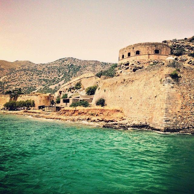 The island of #Spinalonga  #Elounda #Crete   Photo credits: @linnisterh