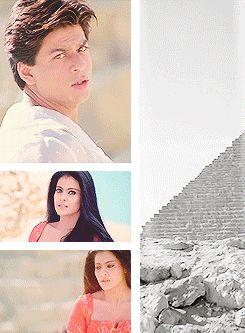Shahrukh Khan and Kajol in Suraj Hua Madham  - K3G (2001)