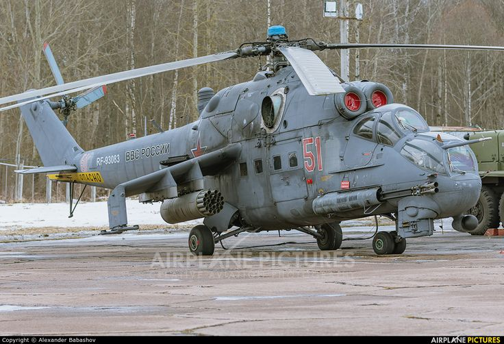 Russia Air Force Mil Mi-24P RF-93083