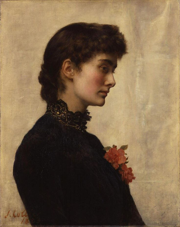 The Artist John Collier's Wife, Marion Collier.1880 – oil on canvas.