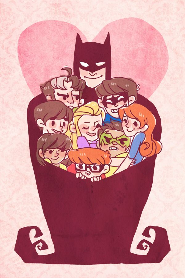 Bat hug!! ^_^ I want in!!!