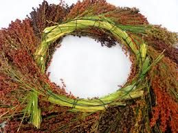 broom corn wreaths - Google Search