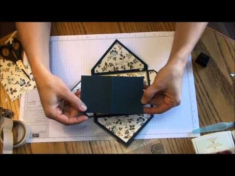 large envelope small card Rachel Thums