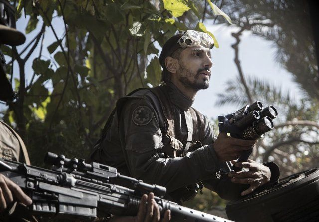 Riz Ahmed in Rogue One: A Star Wars Story (2016)