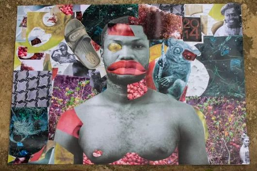 """Kuenyehia Prize on Twitter: """"Larry @11LCLArry11 uses Ghanaian calendars to create #collages of his own utopian spaces w/ infinite possibilities """""""