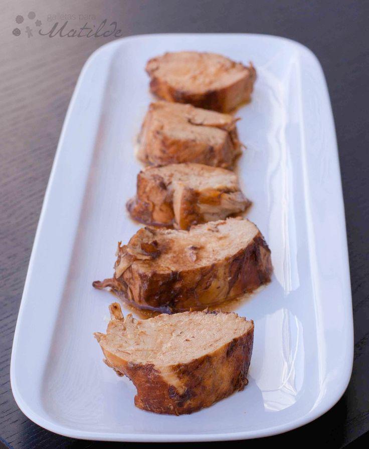 Pechugas de pollo al vinagre balsámico de módena