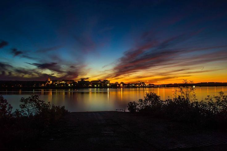 Sunset in Fredericton, New Brunswick, Canada
