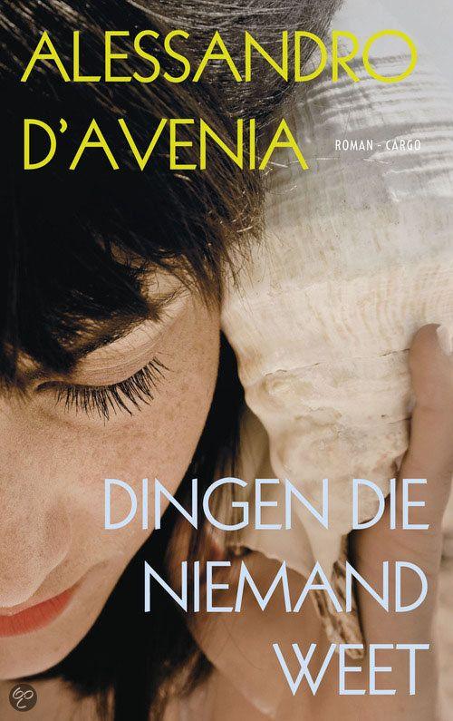 63 best boeken manse images on pinterest books romans and romances dingen die niemand weet alessandro davenia heel fandeluxe Image collections