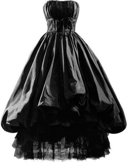 NOCHE  Robe de soirée en taffetas de soie noir  1952 Ca.