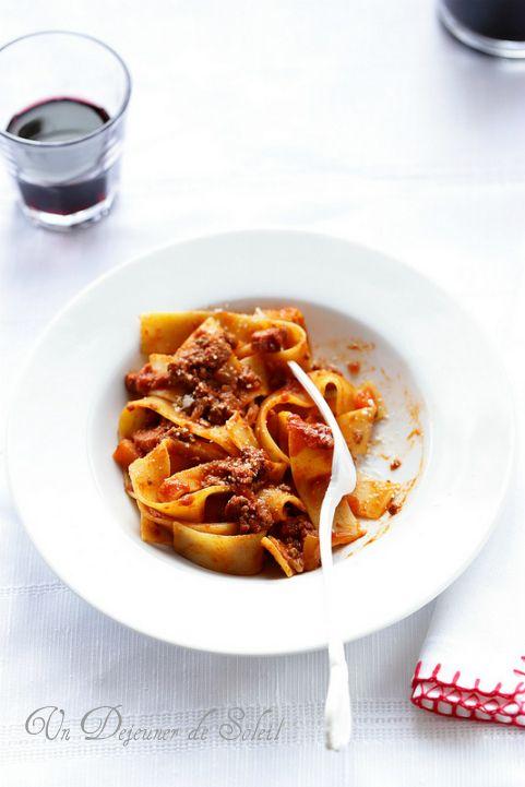 Sauce bolognaise le vrai ragu alla bolognese pour lasagnes