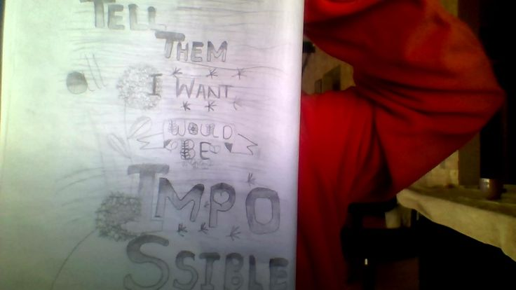 Tell them all i want would be Impossible. Impossible by James Arthur