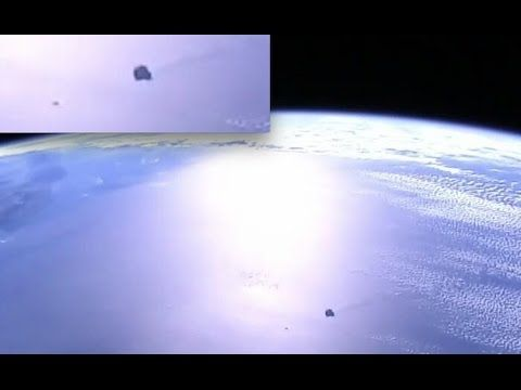 ISS Live Feed Captures Large Black Burning Object Above Earth! | Awesome...