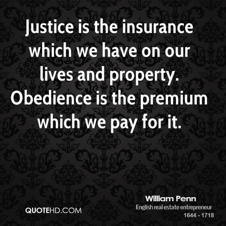 Quotes On Justice | William Penn Quotes | QuoteHD