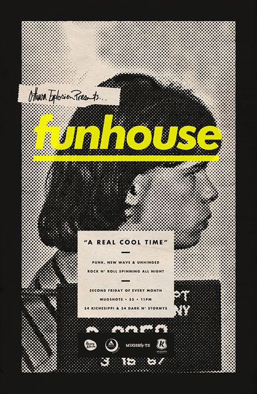 Michael George Haddad: Funhouse Posters.
