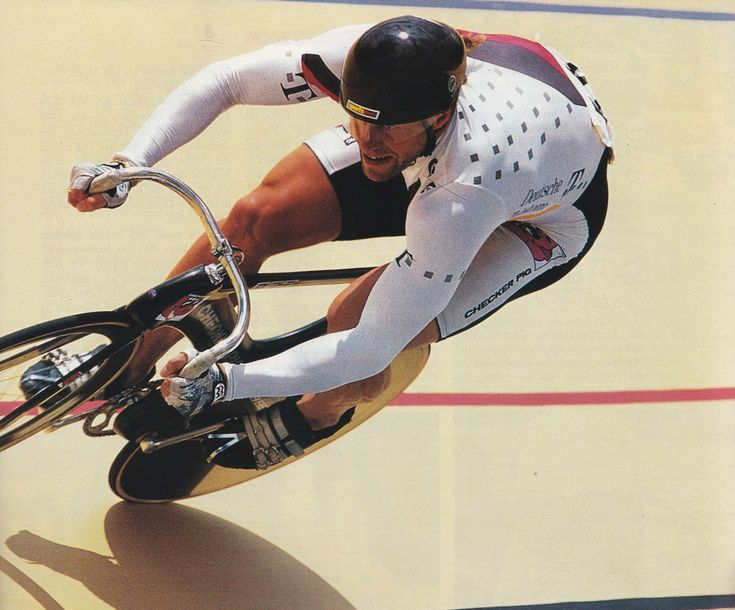 https://flic.kr/p/94unK7 | Michael Hübner | 1995 UCI Track Cycling World Championships  Bogotá, Colombia  Velódromo Luis Carlos Galán