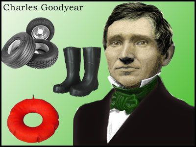 June 15, 1844 Charles Goodyear received a patent for a process to strengthen rubber.