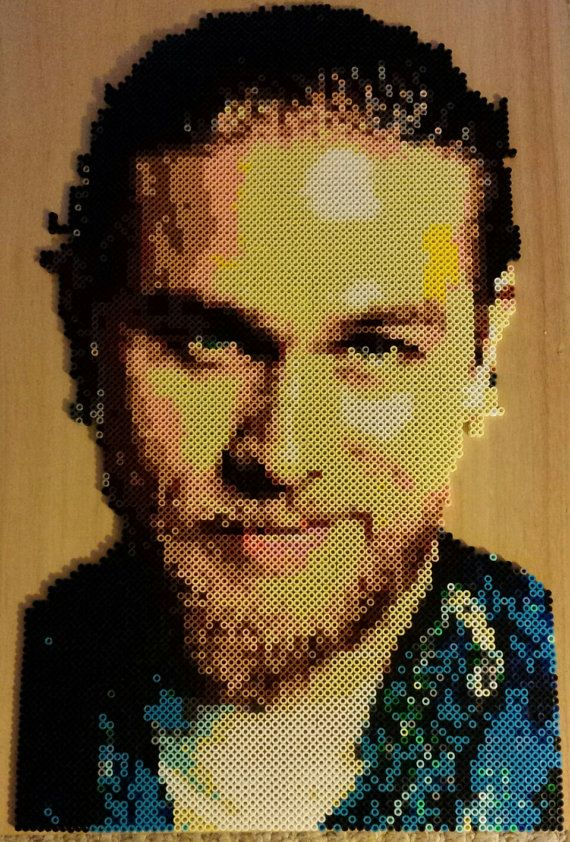 JT 7184 Sons Of Anarchy handmade Jax Teller portrait by tanya1124