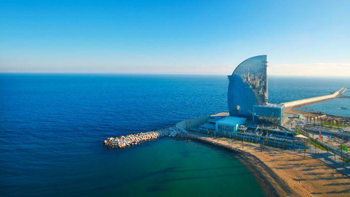Отель W Barcelona от JUNG
