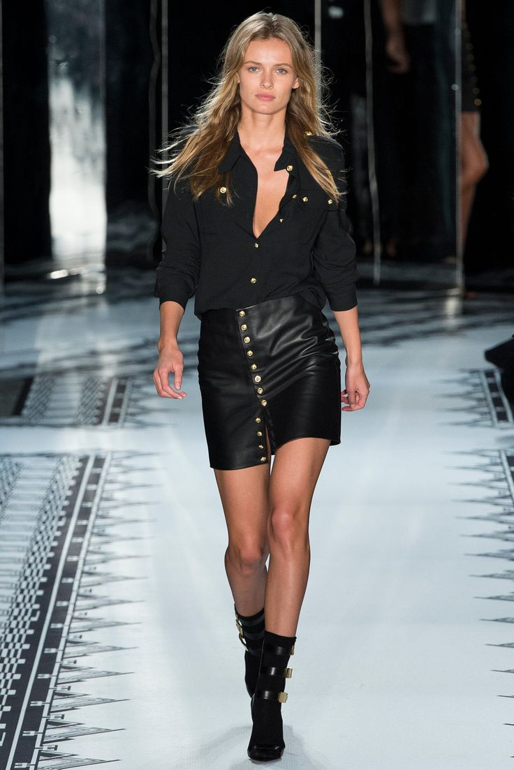 long winter coats Versus Versace Spring 2015 Ready to Wear Collection Photos   Vogue