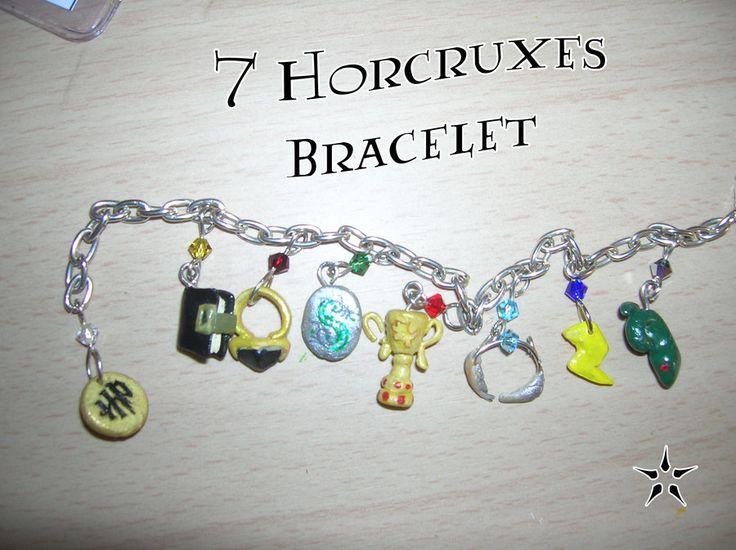 7 Horcruxes Bracelet by ~Thylazine on DeviantArt