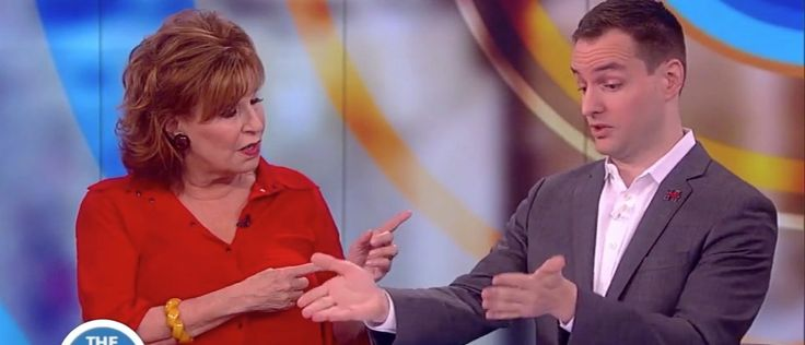 """Hillary Clinton's campaign manager Robby Mook stopped by """"The View"""" on Thursday to talk about the election.    Right off the bat, host Joy Behar asked Mook why people view Clinton as a """"liar,""""a ques"""
