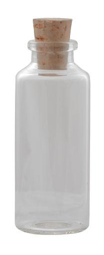 For wine: 30 ml Clear Cyl Rnd Eden Glass: Sunburstbottle.com