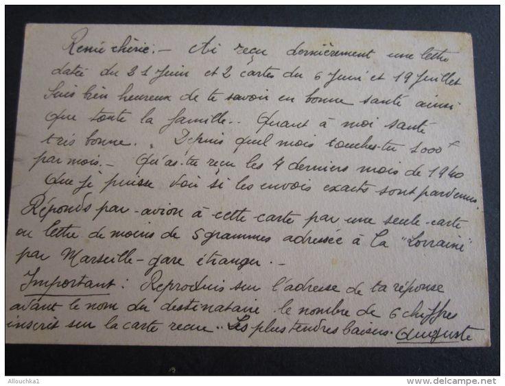 MILITARIA:Carte postale Franchise Militaire Cachet Amirauté française Marine-à…