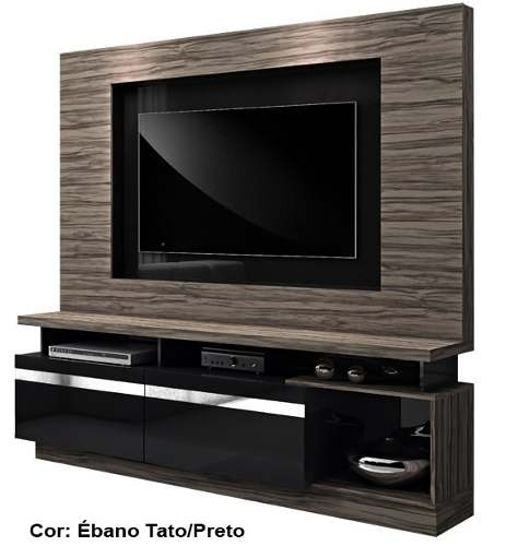 Estante Home Theater Absoluto C/ Painel + Suporte Tv Lcd Led