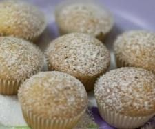Coconut Cupcakes - Dairy Free | Official Thermomix Recipe Community I made them in silicone moulds in the veroma: one litre water/2mins/veroma/speed 2 - then put cupcakes in both layers and 20mins/veroma/speed 2. Result: super moist I also made them egg free - they just fell apart a bit more