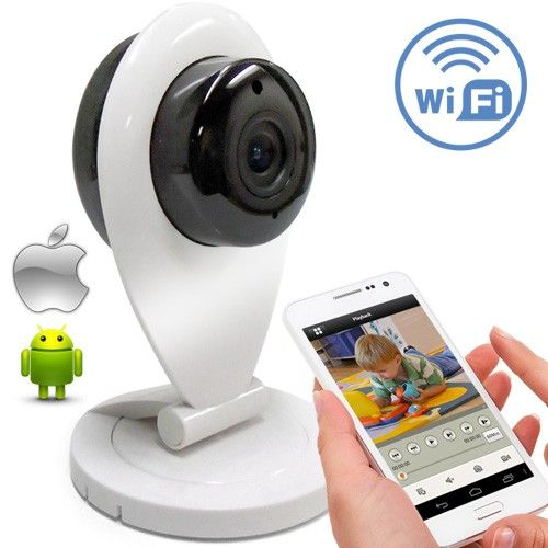 FIRSTCAM - CAMARA HD FIJA INALAMBRICA, 720P 1280x720, IR-10M, LENTE 3.6MM, H.264, IR CUT PARA FUNCION DIA/NOCHE, P2P, WIFI, ONVIF, AUDIO
