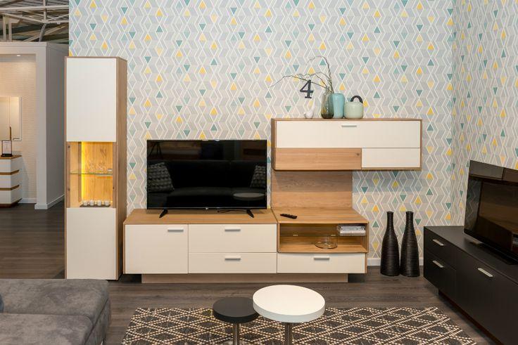 Arcus collection - livingroom idea from Klose. #KloseFurniture #woodenfurniture #livingroom