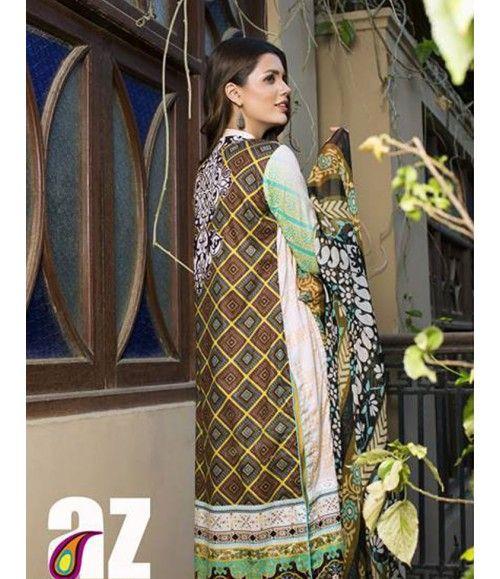 Monsoon Festivana SS '16 Embroidered Collection by Al Zohaib AZ_8B