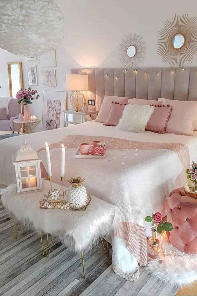 33 Stylish Bedroom Decorating Ideas To Inspire You Stylish Bedroom Girl Bedroom Designs Girl Bedroom Decor