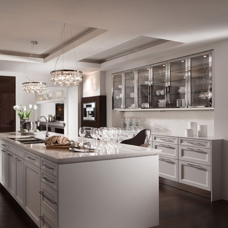 #modern #classic #kitchen #white #dark #nosunlight #lamps #glass
