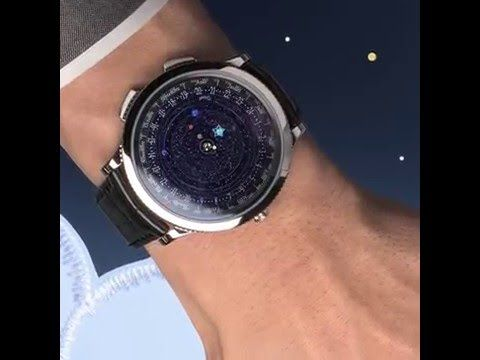 With its depiction of the universe, the Midnight Planétarium watch captures the course of the planets.  Discover more about Poetic Complication™ watches on Instagram.com/VanCleefArpels
